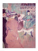 Quadrille at the Moulin Rouge, 1892 Fine Art Print