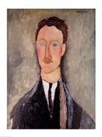 Portrait of Leopold Survage Fine Art Print