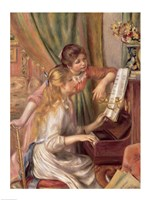 Young Girls at the Piano, 1892 Fine Art Print