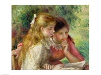 The Reading Fine Art Print