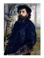Portrait of Claude Monet Framed Print