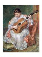 The Guitar Player, 1897 Fine Art Print