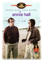 Annie Hall Beach Scene Framed Print