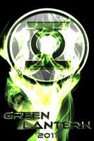 Green Lantern - 2011 Framed Print