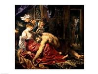 Samson and Delilah, c.1609 Fine Art Print