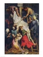 Descent from the Cross, 1617 Fine Art Print