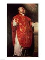 St. Ignatius of Loyola Fine Art Print