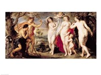 The Judgement of Paris, 1639 Fine Art Print