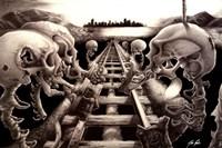 TerrorRail 1 Fine Art Print