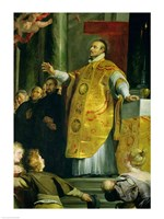 The Vision of St. Ignatius of Loyola Fine Art Print