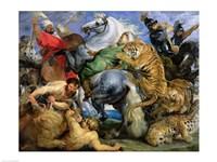 The Tiger Hunt Fine Art Print