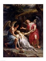 Ecstasy of Mary Magdalene Fine Art Print