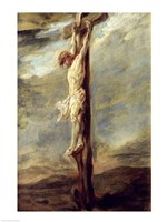 Christ on the Cross Framed Print