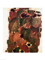 Sunflowers II, 1911 Fine Art Print