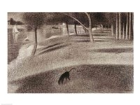 Study for Sunday Afternoon on the Island of La Grande Jatte Fine Art Print