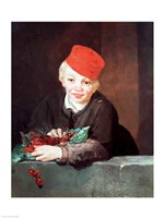 The Boy with the Cherries, 1859 Fine Art Print