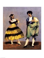 Spanish Dancers, 1879 Fine Art Print