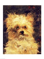 Head of a Dog - Bob, 1876 Fine Art Print