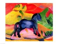 Little Blue Horse, 1912 Fine Art Print