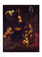 Madonna of the Rocks, c.1478 Fine Art Print