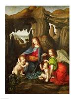Madonna of the Rocks Fine Art Print