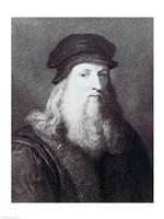 Leonardo da Vinci Fine Art Print