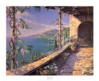Mediterranean Villa Fine Art Print