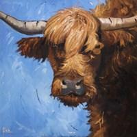 Cow #301 Fine Art Print