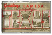 Texas Greetings Fine Art Print
