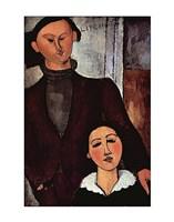 Portrait of Jacques & Berthe Lipchitz Fine Art Print