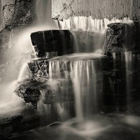 Waterfall, Study #1 Fine Art Print