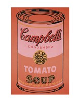 Campbell's Soup Can, 1965 (orange) Framed Print