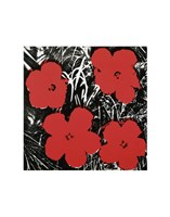 Flowers (Red), 1964 Fine Art Print