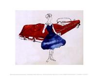 Female Fashion Figure, c. 1959 Fine Art Print