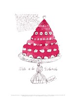 Wild Raspberries by Andy Warhol and Suzie Frankfurt, 1959  (pink) Fine Art Print