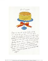 Wild Raspberries by Andy Warhol and Suzie Frankfurt, 1959  (orange and yellow) Fine Art Print