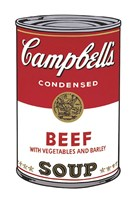 Campbell's Soup I:  Beef, 1968 Framed Print