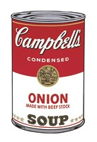 Campbell's Soup I:  Onion, 1968 Framed Print