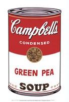 Campbell's Soup I:  Green Pea, 1968 Fine Art Print