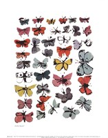Butterflies, 1955  (many/varied colors) Fine Art Print