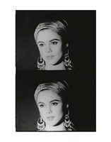 Screen Test: Edie Sedgwick, 1965 Fine Art Print
