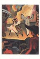 Russian Ballet Framed Print
