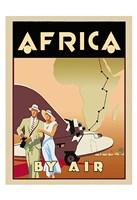 Africa by Air Fine Art Print