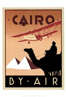 Cairo by Air Framed Print