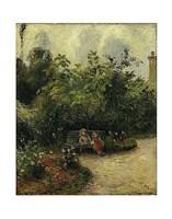Corner of a Garden at the Hermitage, 1877 Fine Art Print