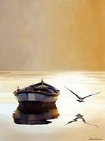 Sunset in the Pier Fine Art Print