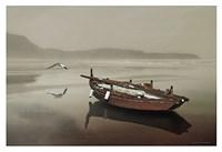 The Solitude of the Sea Fine Art Print