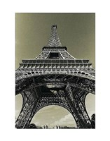 Eiffel Tower Looking Up Fine Art Print