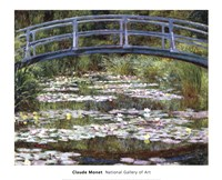 The Japanese Footbridge, 1899 Fine Art Print