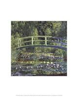 Water Lily Pond, 1899 (blue) Fine Art Print
